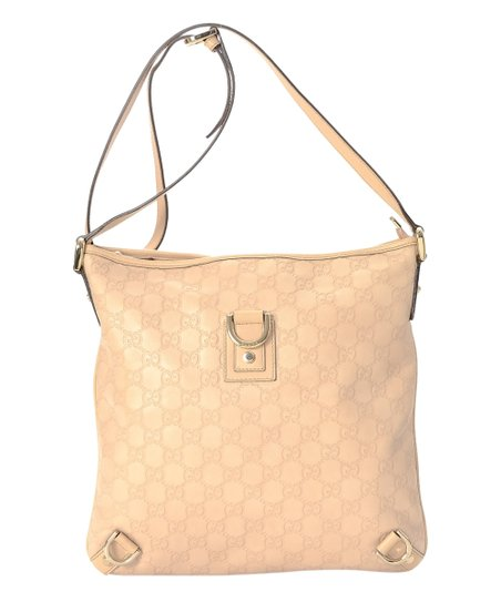 fa1f28d76b9b8b love this product Pre-Owned Peach Guccissima Abbey Leather Crossbody Bag