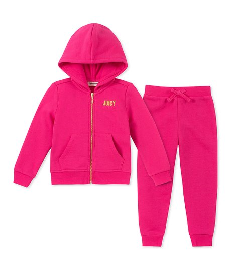 b06819a18 love this product Pink 'Juicy Couture' Hoodie & Sweatpants - Infant,  Toddler & Girls
