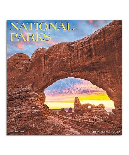 National Month Calendar 2020 Willow Creek Press National Parks 18 Month 2020 Wall Calendar | Zulily