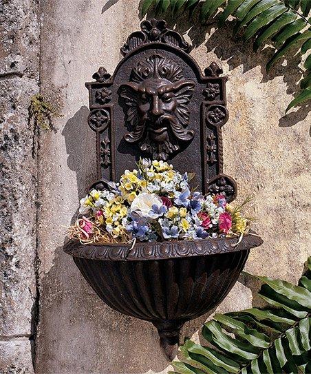 Design Toscano Cast Iron Greenman Sculptural Garden Outdoor
