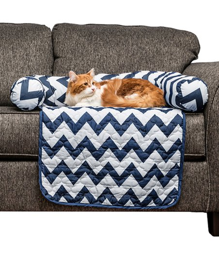 Phenomenal Duck River Textile Navy Small Reversible Pet Bed Chair Cover Gmtry Best Dining Table And Chair Ideas Images Gmtryco