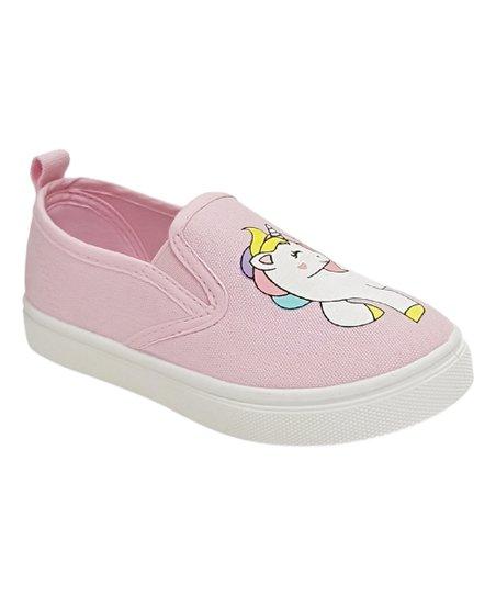 Honey Bunny Pink Unicorn Slip-On