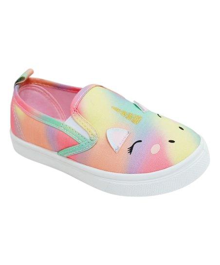 Honey Bunny Rainbow Unicorn Vio Slip-On