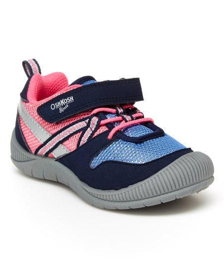 check out 9bcbd 3cfb4 OshKosh B'gosh Pink & Blue Anni Sneaker - Girls