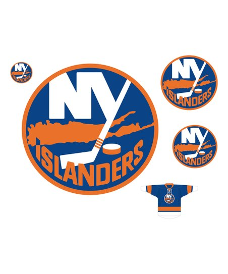 official photos b0271 c7585 Fathead New York Islanders Logo NHL Wall Decal Set