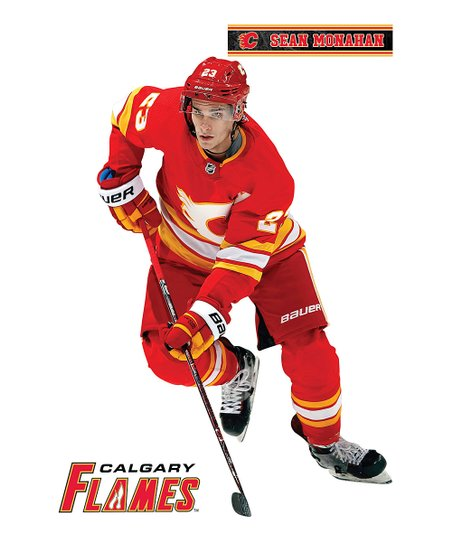 Fathead Calgary Flames Sean Monahan Large Decal Set Best Price And Reviews Zulily