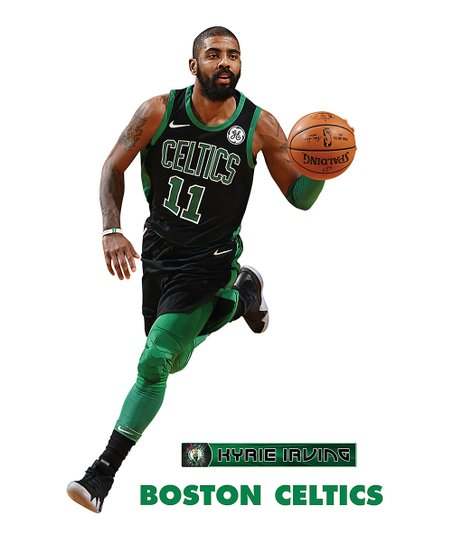 more photos b38e5 111ee Fathead Fathead Boston Celtics Kyrie Irving Black Jersey X-Large Decal Set
