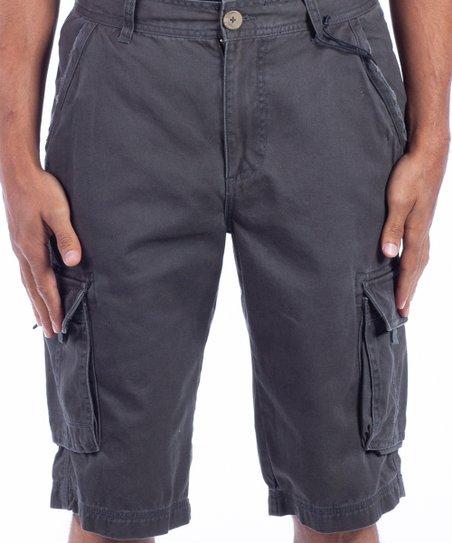 eaaddf3342 Triple Five Soul Slate Cargo Shorts - Men | Zulily
