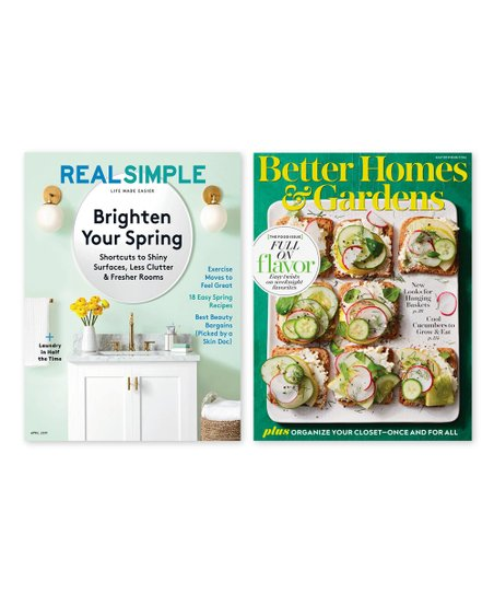 Better Homes Gardens Real Simple Magazine Subscription