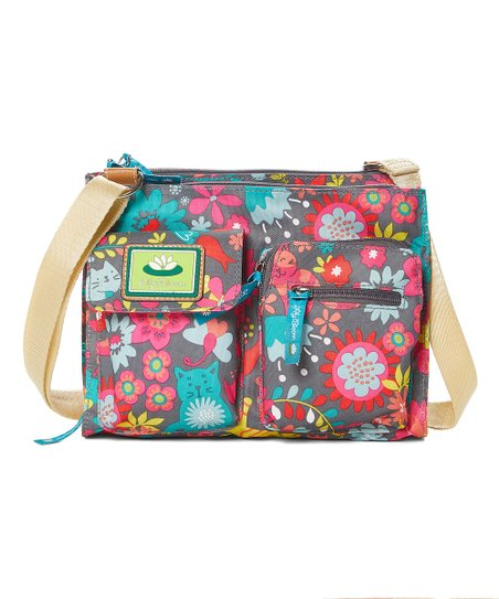 Lily BloomPlayful Garden Regina Cross body Bag Handbag purse New