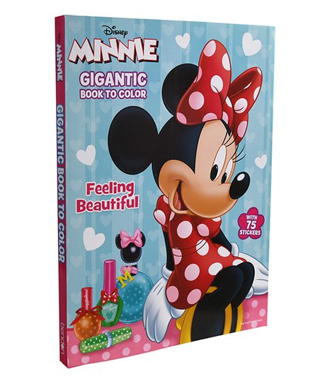 UPD Minnie Mouse Giant Coloring Book Best Price And Reviews Zulily