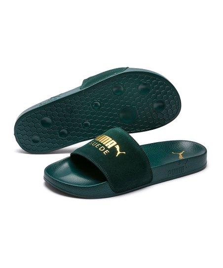 f87e47e5870e love this product Ponderosa Pine   Puma Team Gold Leadcat Suede Slide - Men