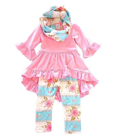 e8910b31ef8 love this product Pink Ruffle Tunic Set - Toddler & Girls
