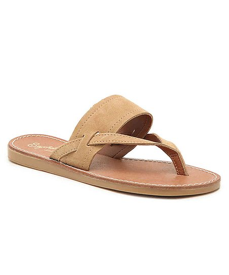 1df3f58d4d4 love this product Tan Mosaic Suede Sandal - Women