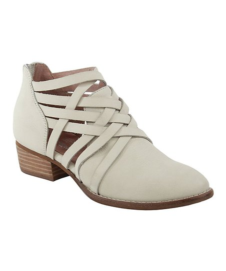 6e69317e7d love this product White So Blue Ankle Boot - Women