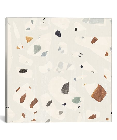 Icanvas Victoria Borges Abstract Terrazzo Ii Wrapped Canvas