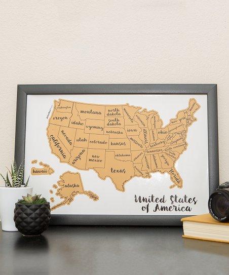 JetsetterMaps™ Scratch Your Travels USA Map Wall Art on red usa map, folding usa map, black usa map, white usa map, gold usa map, signature usa map,