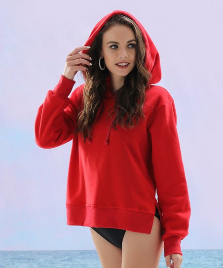 bea1a2ab love this product Red Beach Hoodie - Women & Plus