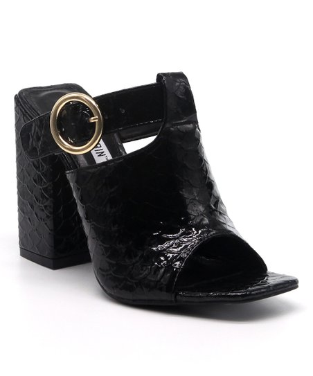 a70a82cdd0 Cape Robbin Collection Black Strike Sandal - Women | Zulily