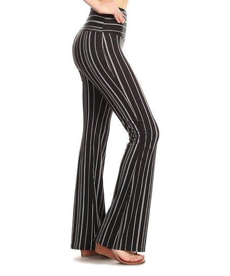 ecd681d4d1 love this product Black & White Stripe High-Waist Palazzo Pants - Women