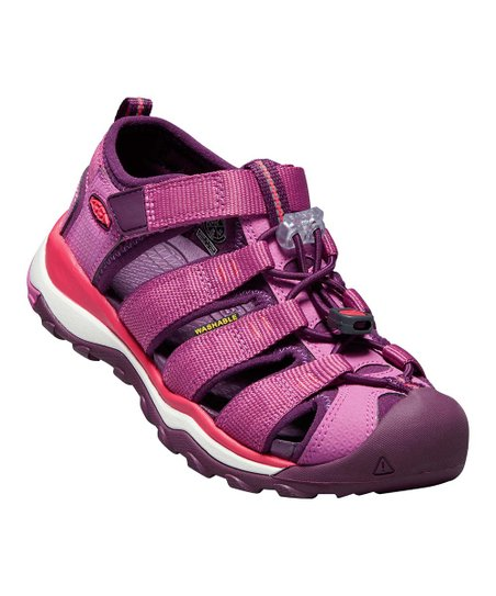 quality design 33654 eeec3 KEEN Red Violet & Grape Wine Newport Neo H2 Sandal - Girls ...