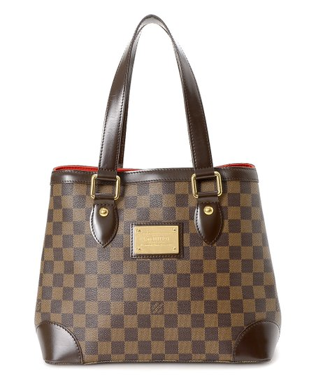 0cdfe905971f love this product Pre-Owned Brown Damier Ebene Hampstead PM Tote