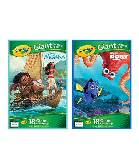 560 Crayola Giant Coloring Pages Moana For Free