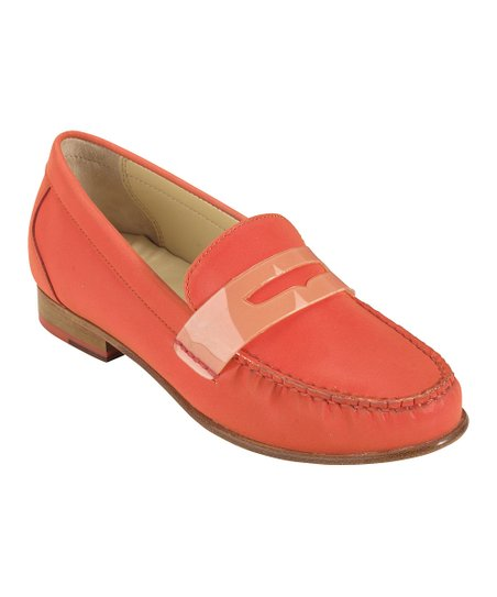 6e403fce131 love this product Orange Pop Monroe Penny Loafer