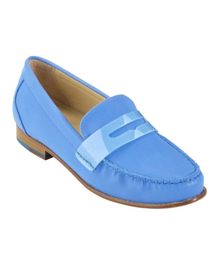 dbb5ff6acf9 Cole Haan Blue Topaz Monroe Penny Loafer