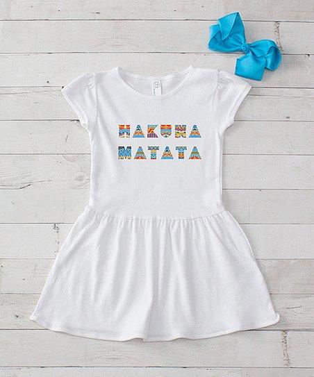 Hakuna Matata Cheer Bow