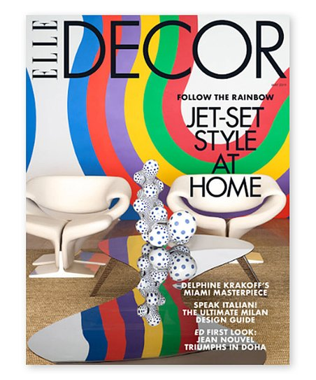 Mailbox Must Haves Elle Decor Magazine Subscription Zulily