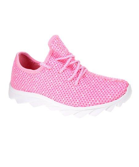 Dirty Laundry Pink Serene Mesh Sneaker