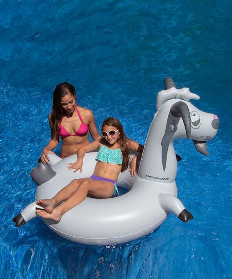 Swimline Goat Ring Swim Float | Zulily
