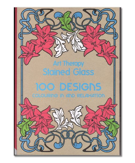 Bargain Books Stained Glass Coloring Book