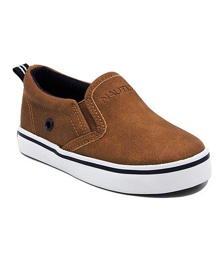 Nautica Tan Akeley Slip-On Sneaker