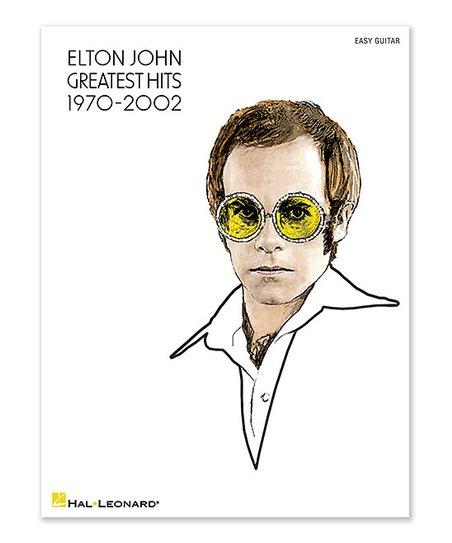Hal Leonard Elton John Greatest Hits 1970-2002 Sheet Music