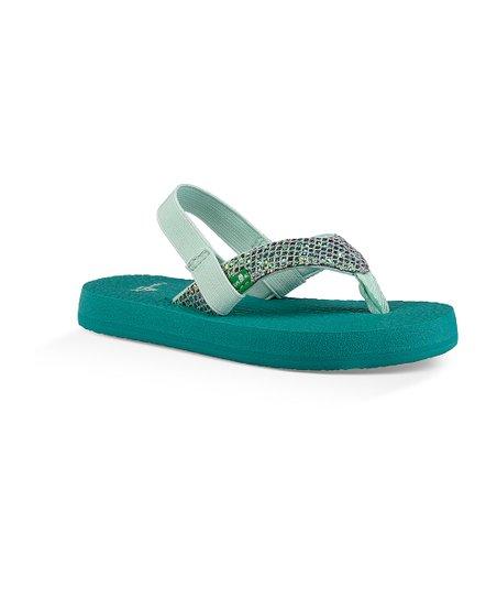 Sanuk Kids Yoga Glitter Flip-Flop