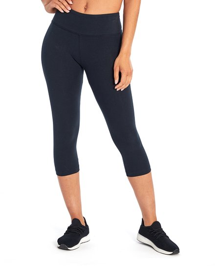 d87b701a6e2 love this product Black Carrie Butt Booster 18   Mid-Rise Crop Leggings -  Women