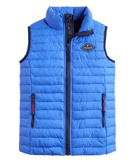 df69d822b Joules Dazzling Blue Croft Packable Puffer Vest - Infant & Boys | Zulily