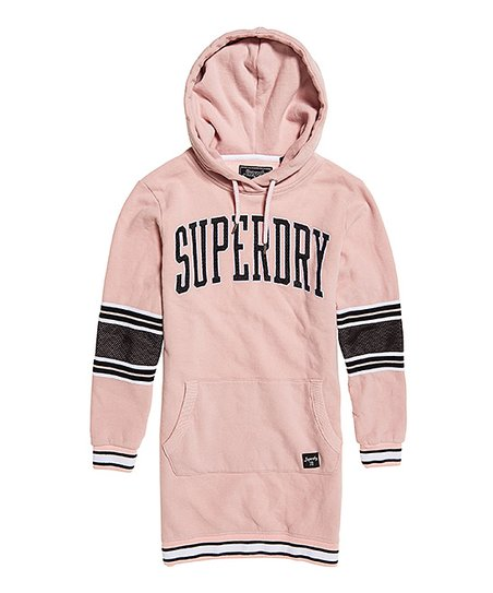 bb4c837a3fc Superdry Dusty Pink Beccy Hooded Sweatshirt Dress - Women