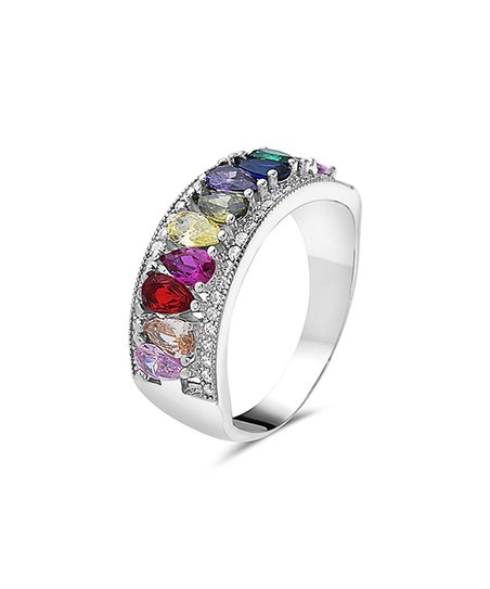 0c933c5b0 love this product Yellow & Red Teardrop-Cut Band With Swarovski® Crystals