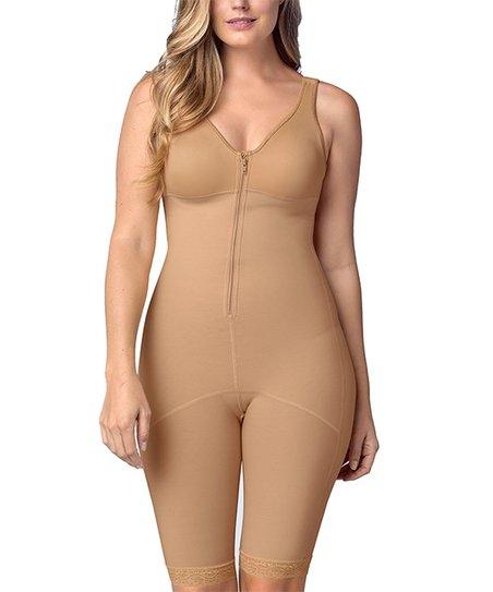 5f23013b5af love this product Beige   Khaki Full Bodysuit Slimming Shaper - Women   Plus