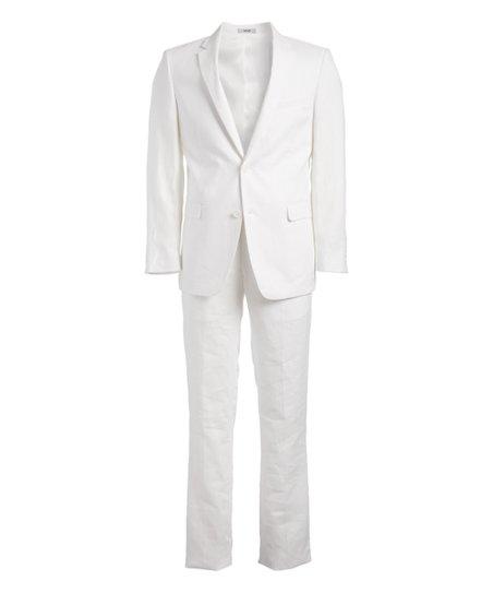 Adolfo White Suit Men Big Tall Zulily