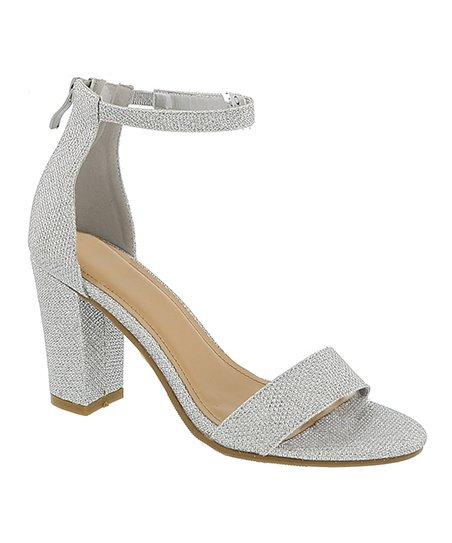 f8450a1b244 love this product Silver Ankle-Strap Hannah Sandal - Women