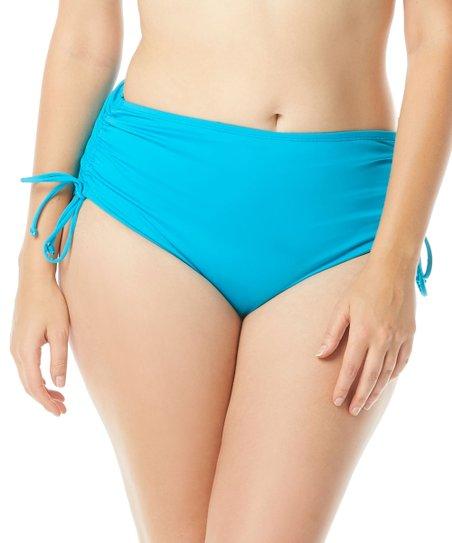 6f4de5bbe6 Beach House Woman Coastal Jade Hayden Side Tie Bikini Bottom - Plus ...