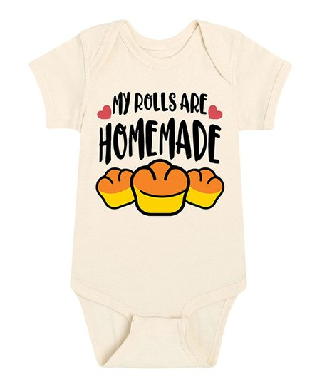 These Rolls Are Homemade Onesie Free Shipping|