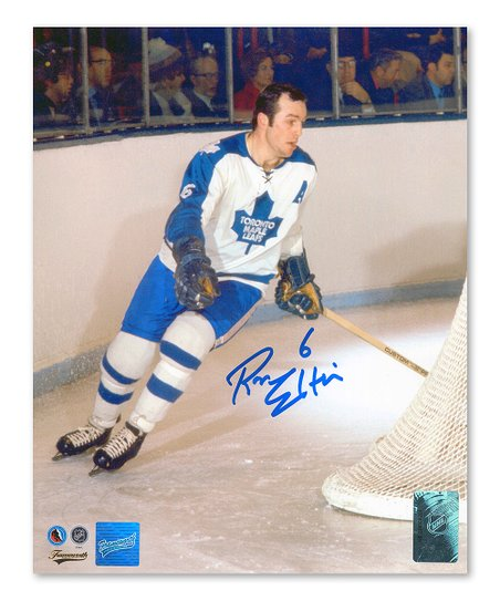 watch c42a0 a3203 Frameworth Ellis Autographed Toronto Maple Leafs Action Poster