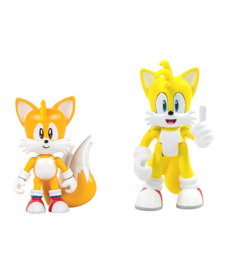 Tomy Sonic The Hedgehog Classic Modern Tails Action Figure Set Best Price And Reviews Zulily
