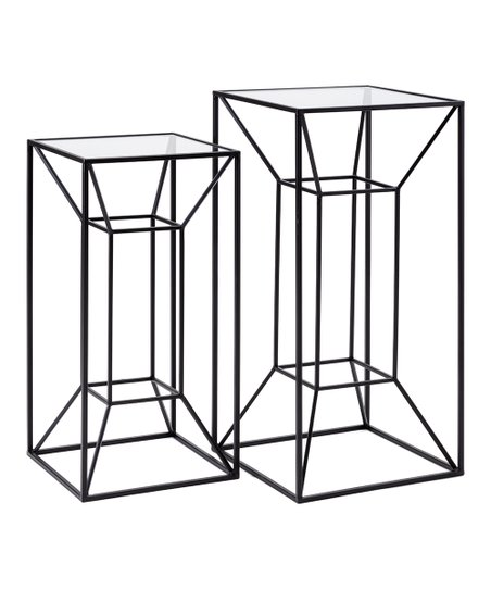 Imax Rectangle Wrought Iron Gl Powder Coated Rogers