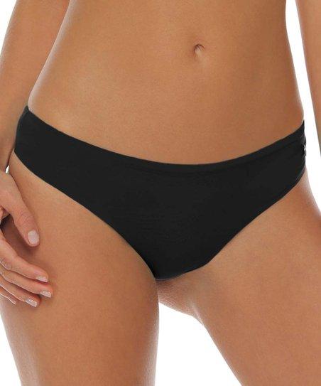 dfafc2748bc Garotas Black Brazilian Bikini Bottoms - Women | Zulily